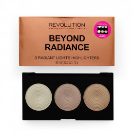 Paleta de Iluminadores Makeup Revolution - Beyond Radiance (Highlighter Palette)