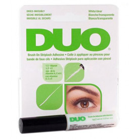 Cola DUO Brush on striplash adhesive - White/Transparente