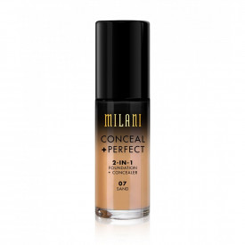 Milani Conceal + Perfect 2-in-1 Foundation + Concealer - Cor 7 Sand